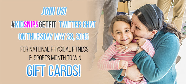 KidSnips Get Fit Twitter Chat