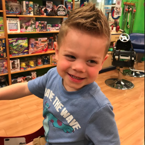 Boys Fauxhawk Hairstyle